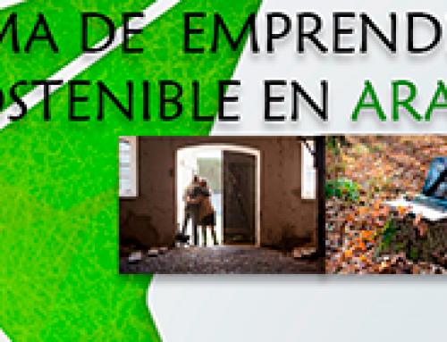 Inscripciones abiertas para el IV Programa de Emprendimiento Rural Sostenible de Aragón 2021