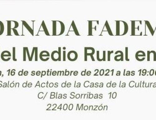 Jornada «El futuro del medio Rural en Femenino»